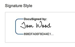 Digital Signatures Simplify the Signature Process