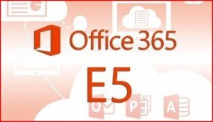 Office 365 E5 outlined