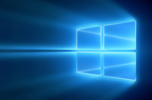 Windows 10 window